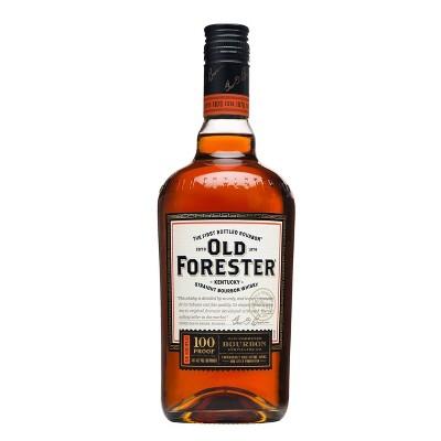 Old Forester 100P Straight Bourbon Whisky - 750ml Bottle
