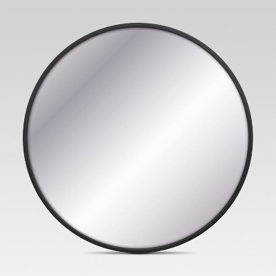 Circular Decorative Wall Mirror Black - Project 62™