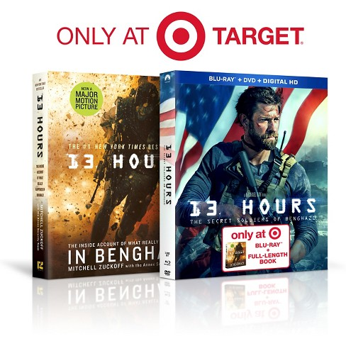 13 Hours 3 Disc Combo Pack (Blu-ray) - Target Exclusive - image 1 of 1