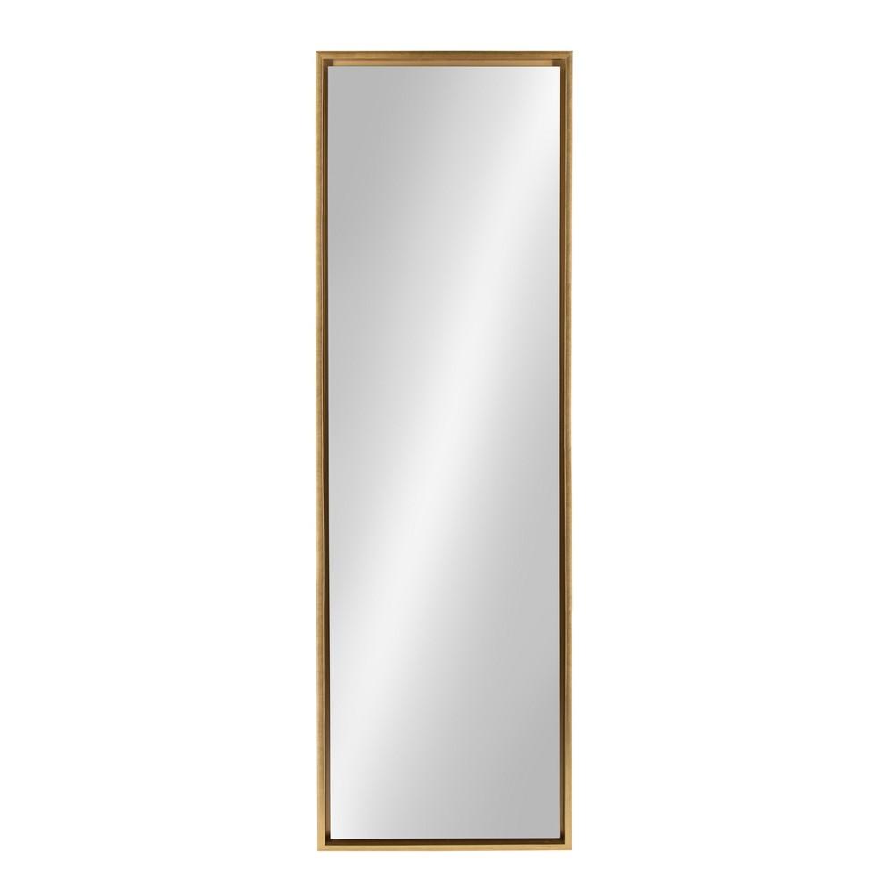 Evans Leaner Decorative Wall Mirror 18x58 - Kate & Laurel, Gold