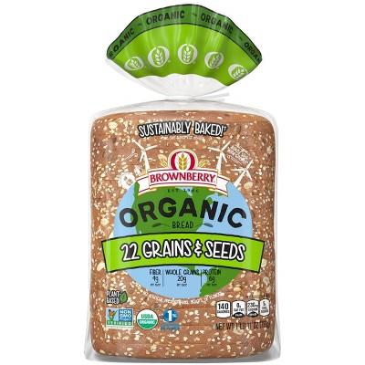 Brownberry Organic 22 Grains & seeds Bread - 27oz