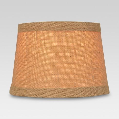 Burlap Trimmed Small Lamp Shade Natural Threshold Target