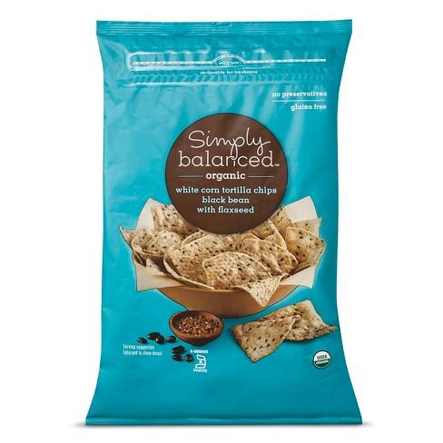 Salt Black Bean Chips - 12oz - Simply Balanced™ - image 1 of 1