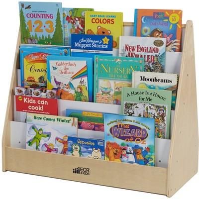 Book Stand White/Wood - ECR4Kids