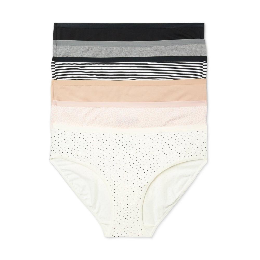 Women 39 S Plus Size Bikini Underwear 6pk Auden 8482 Assorted 2x