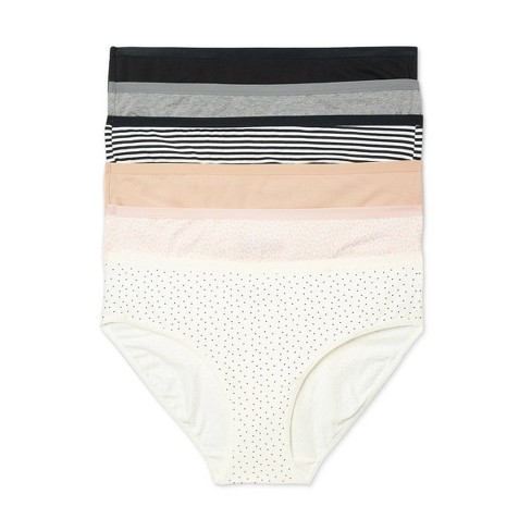 Women's Plus Size Bikini 6pk - Auden™ Assorted - image 1 of 3