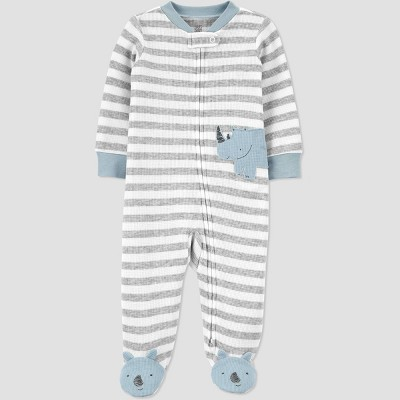 Baby Boys' Rhino Sleep N' Play - Just One You® made by carter's Gray