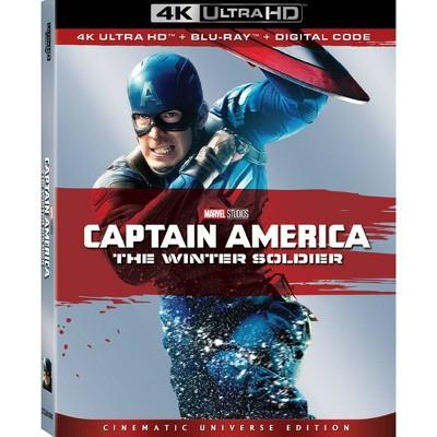 Capt. America: Winter Soldier (4K/UHD + Digital)(2 disc)