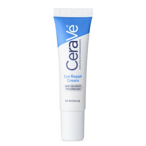 Unscented CeraVe Eye Cream for Dark Circles and Puffiness - .5oz - image 1 of 6