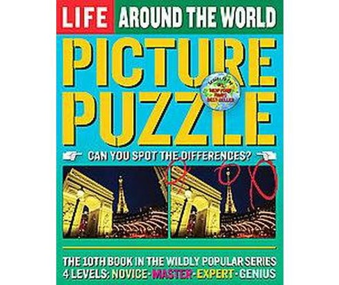 Life Picture Puzzle Around the World (Paperback) by Books Life - image 1 of 1