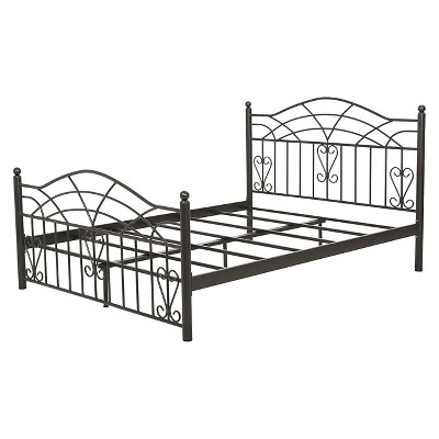 Christopher Knight Home Brassfield Cal-King Sized Iron Bed - Black