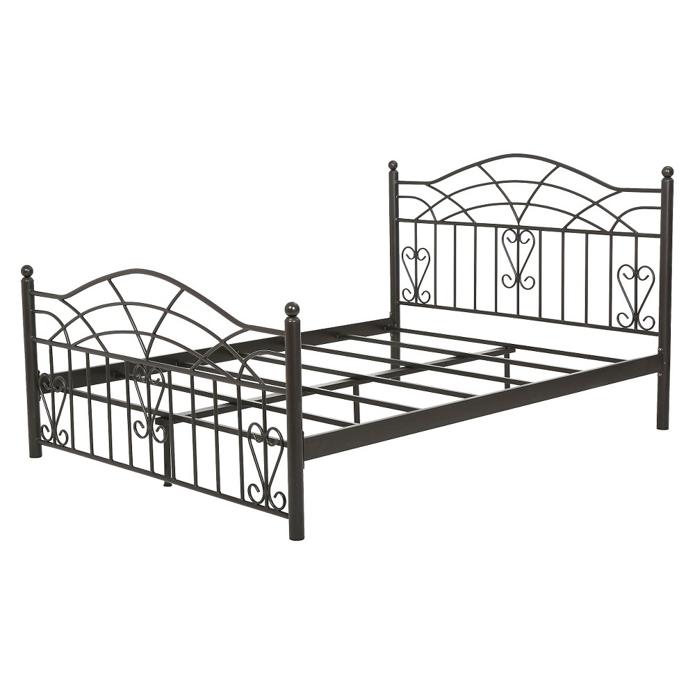 Christopher Knight Home Brassfield King Sized Iron Bed - King - Black