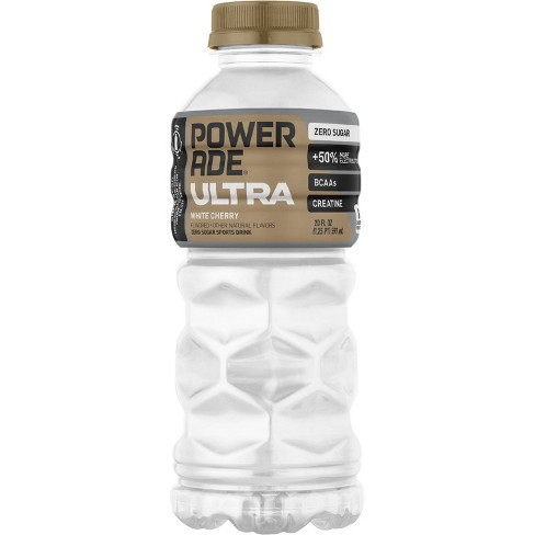 POWERADE Ultra White Cherry Sports Drink - 20 fl oz Bottle - image 1 of 3
