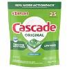 Cascade Original Dishwasher Pods, ActionPacs Dishwasher Detergent Tabs, Fresh Scent - image 2 of 4