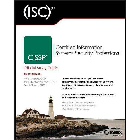 (isc)2 Cissp Certified Information Systems Security Professional Official Study Guide - 8 Edition - image 1 of 1