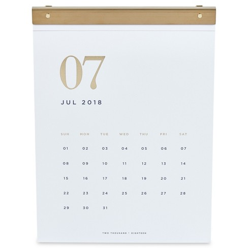 Wall Calendar West Emory White Target