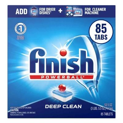 Finish Powerball Tabs Dishwasher Detergent - Fresh Scent