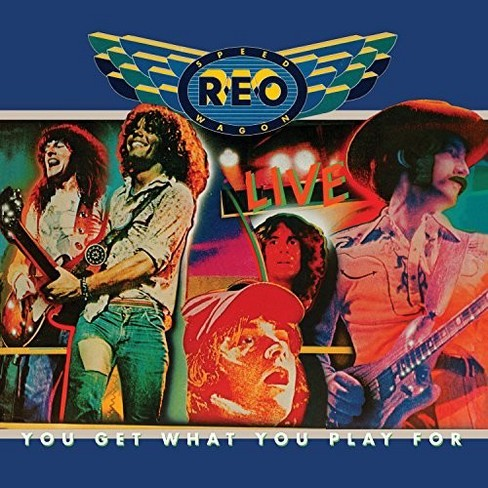 Reo Speedwagon - You Get What You Play For (Vinyl) - image 1 of 1