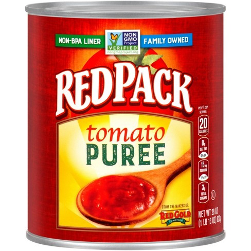 Red Pack Tomato Puree No Additives 29 oz - image 1 of 4