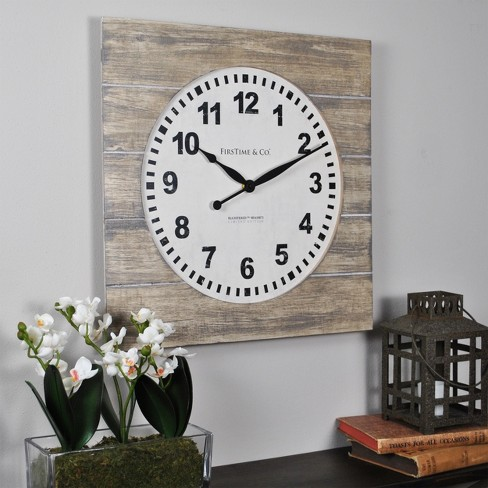 Jackson Square Wall Clock - FirsTime - image 1 of 4