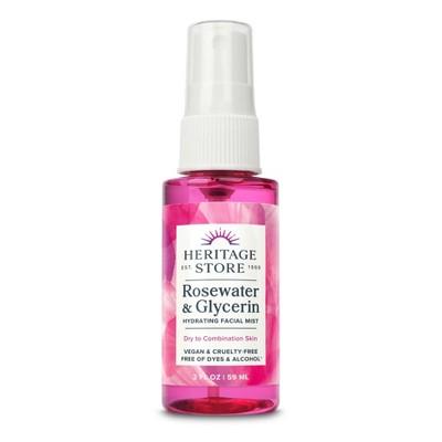 Heritage Store Rosewater & Glycerin - 2 fl oz