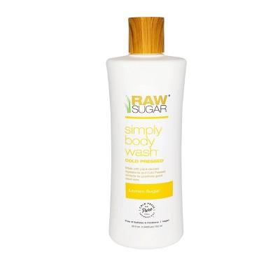 Raw Sugar Lemon Sugar Body Wash - 25 fl oz