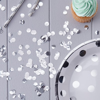 Ginger Ray Silver Table Confetti Pick And Mix