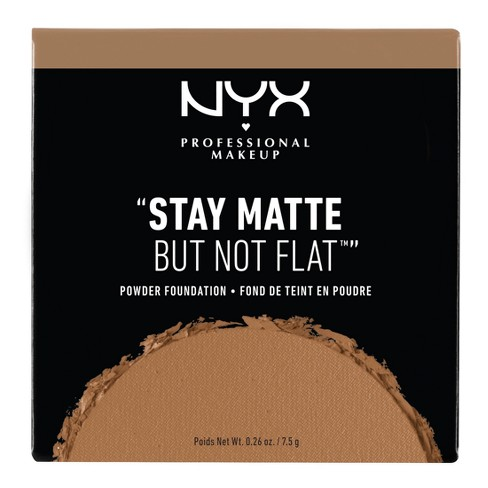 "NYX Professional ""Stay Matte But Not Flat"" Powder Foundation - Deep Shades - image 1 of 3"