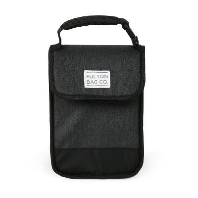 Fulton Bag Co. Munchsak Lunch Sack - Black
