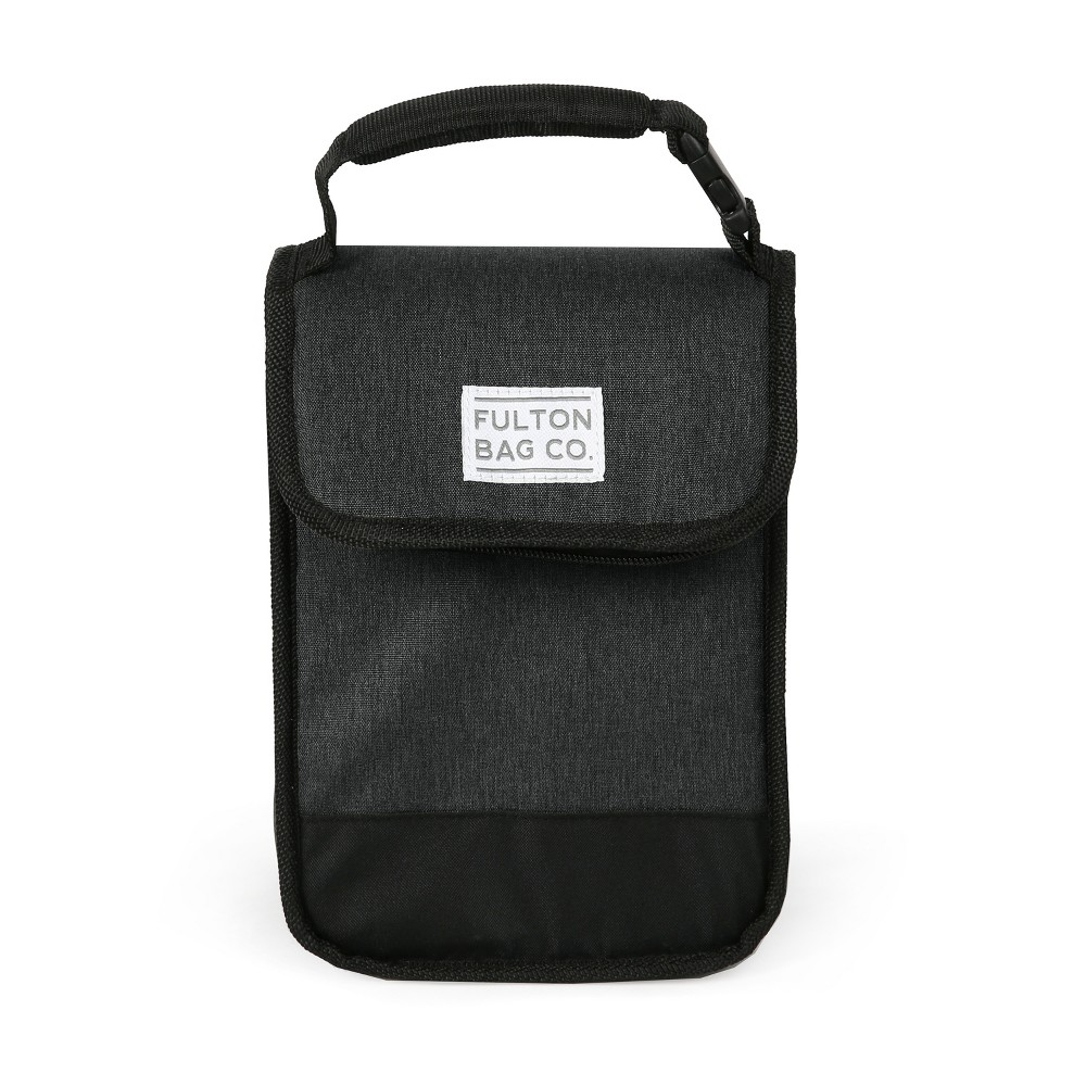 Image of Fulton Bag Co. Munchsak Lunch Sack - Black