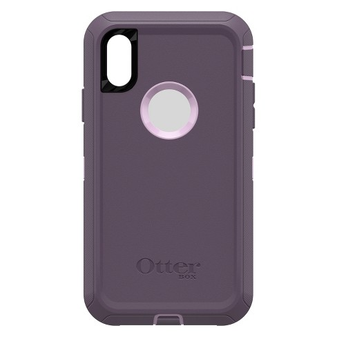brand new 7b3f7 a0ade OtterBox Apple iPhone XR Defender Case - Purple Nebula