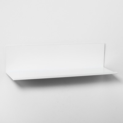 Bent Metal Shelf 24  - White - Project 62™