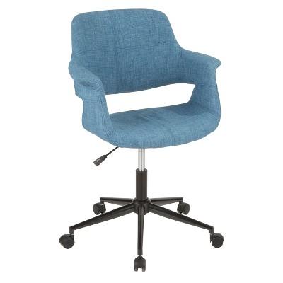 Vintage Flair Mid Century Modern Office Chair - Lumisource