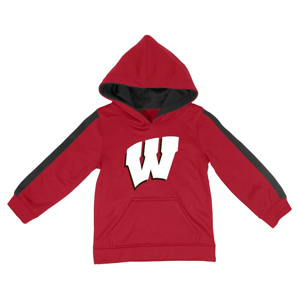 NCAAWisconsin Badgers Toddler Boys' Sweatshirt - Red 3T
