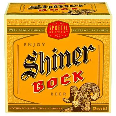 Shiner Bock Beer - 12pk/12 fl oz Bottles