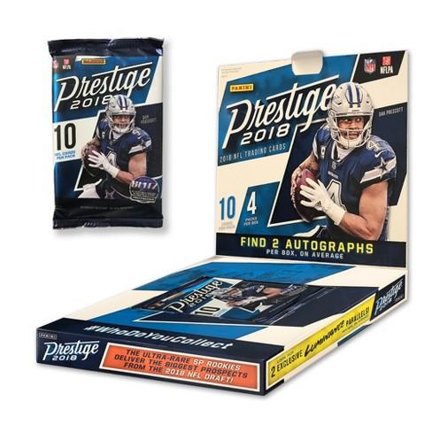 a18f08bfa26 Panini 2018 NFL Prestige Mega Box Football Trading Cards   Target