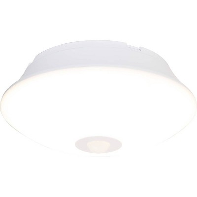 Energizer 300 Lumens Indoor LED Ceiling Fixture Motion Sensing Light White