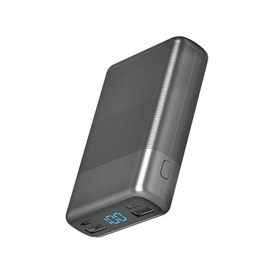 Portable Power Bank 10000mAh with Power Delivery - Slate