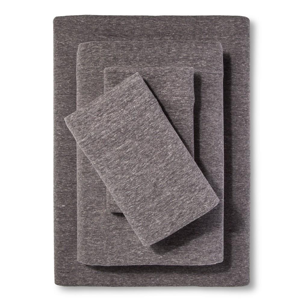Full Jersey Sheet Set Heather Gray Room Essentials 8482