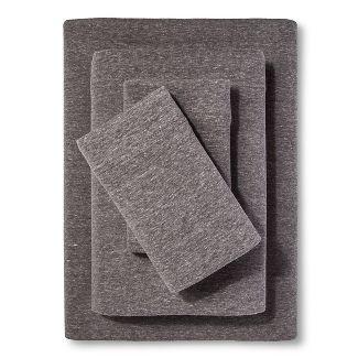 Jersey Sheet Set - (Queen) Heather Gray - Room Essentials™