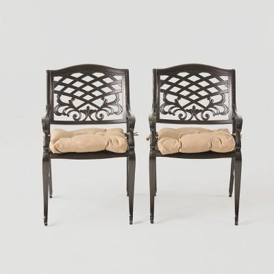 Phoenix 2pk Aluminum Dining Chair - Christopher Knight Home