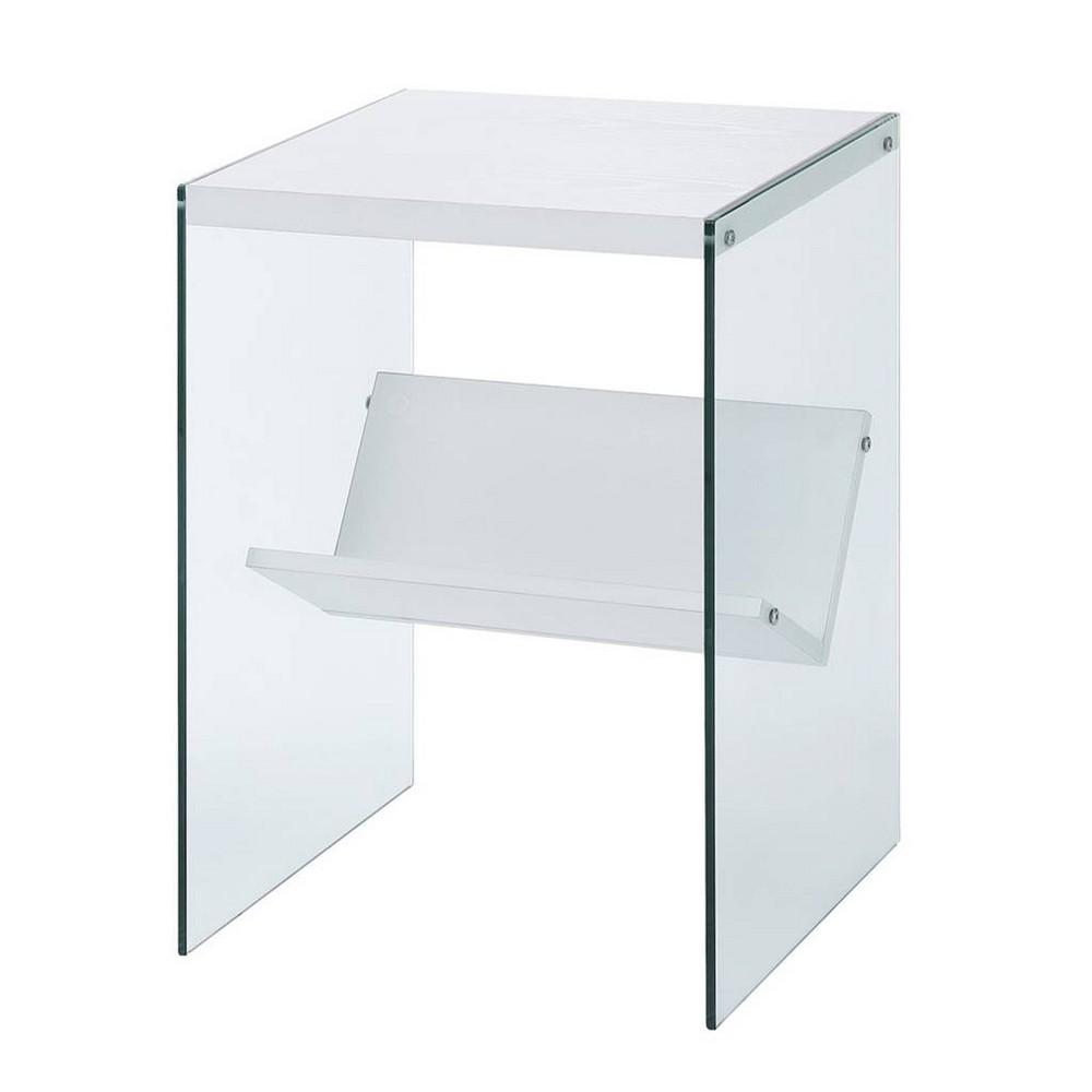 Soho End Table White Breighton Home