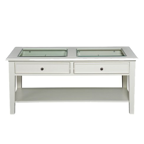 Pacific Cocktail Table White - Aiden Lane - image 1 of 7