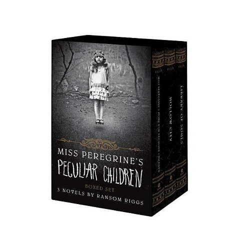 Miss Peregrine's Peculiar Children Boxed Set -  by Ransom Riggs (Paperback) - image 1 of 1