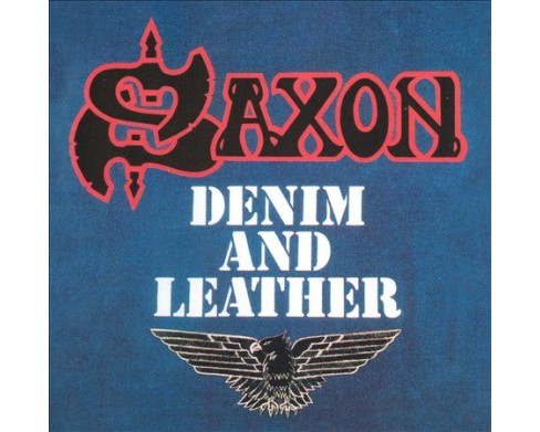 Saxon - Denim And Leather (CD) - image 1 of 1