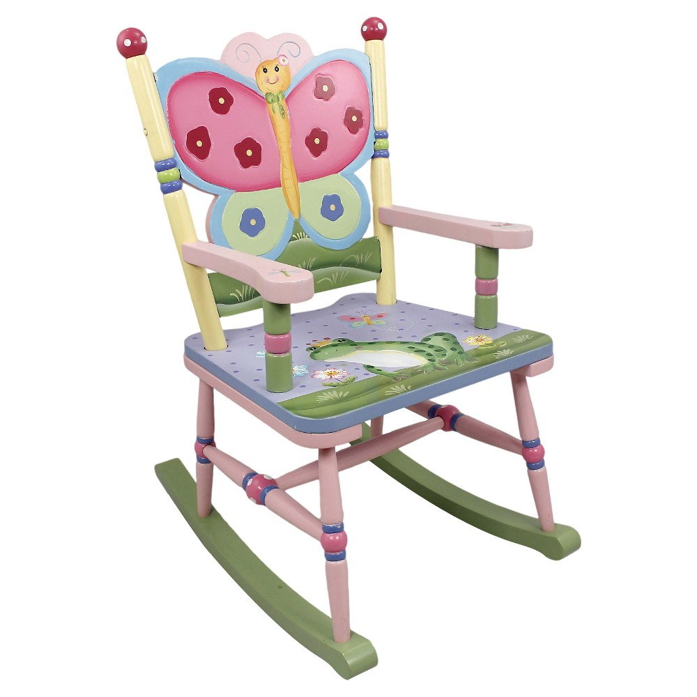 Image of Fantasy Fields Magic Garden Rocking Chair - Teamson