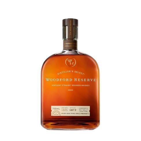 Woodford Reserve Distiller's Select Kentucky Straight Bourbon Whiskey - 750ml Bottle - image 1 of 3