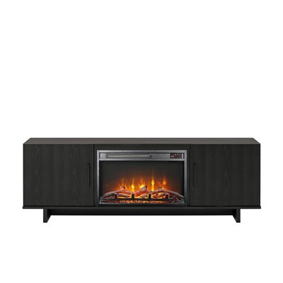 "60"" Rockwood Tv Stand with Fireplace - Room & Joy"