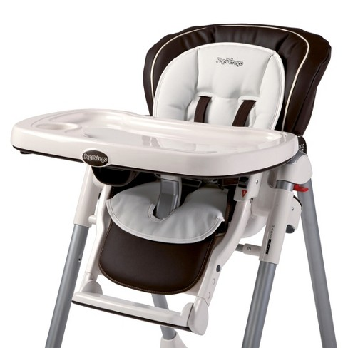 Peg Perego High Chair Booster Cushion - White - image 1 of 1