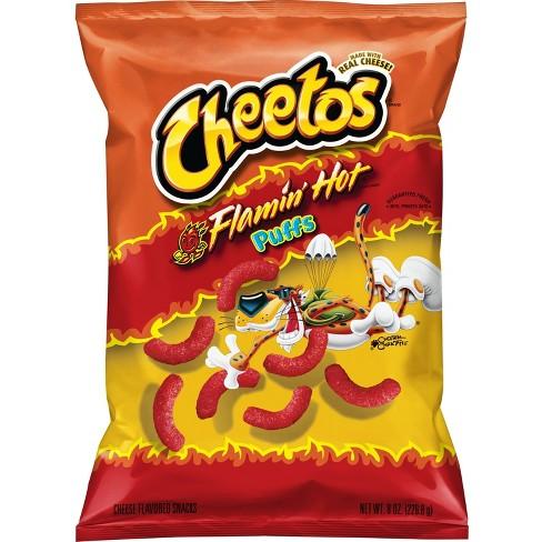 Cheetos Flamin Hot Puffs - 8oz - image 1 of 3